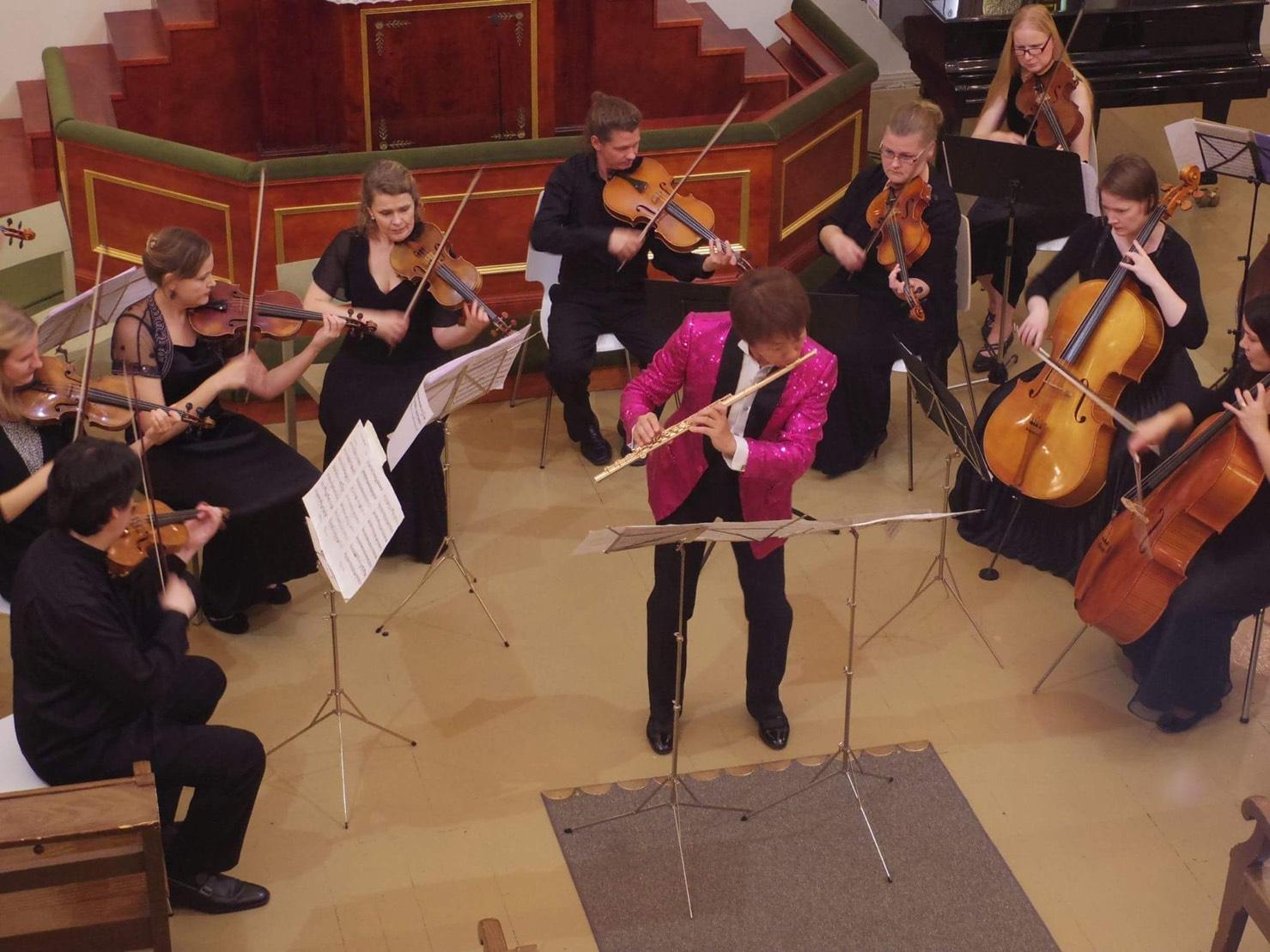 ラ・テンペスタ室内管弦楽団演奏会 本番の様子