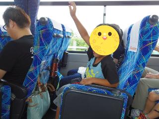 大井川鉄道 バスの車内