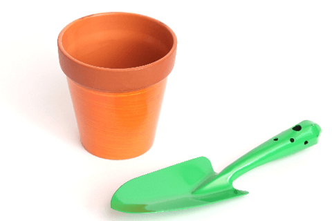 プラスチックの鉢