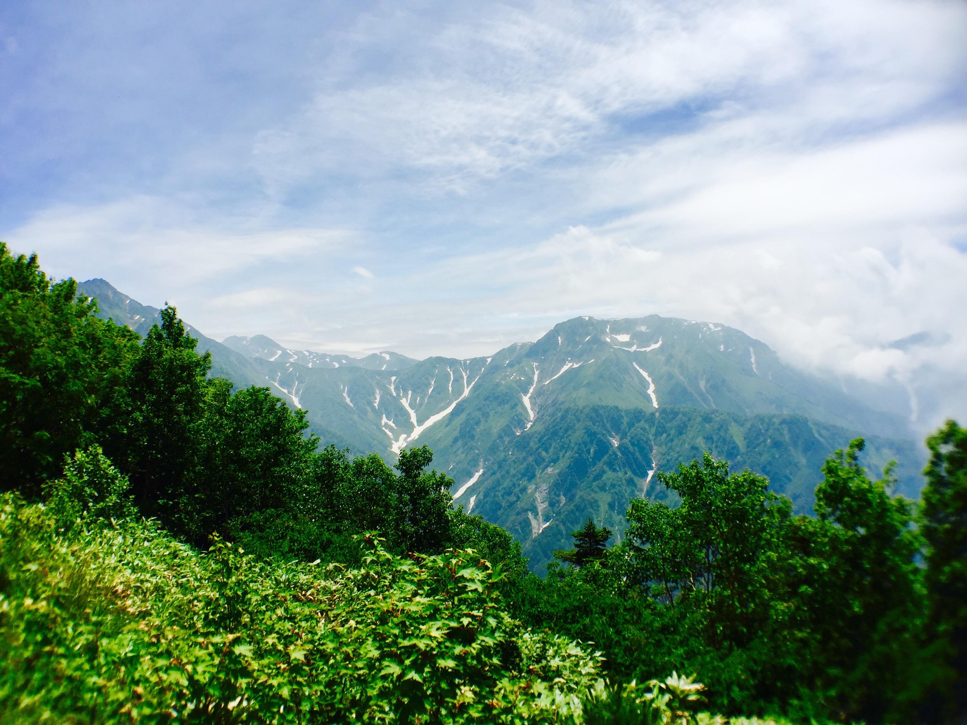 大日岳方面