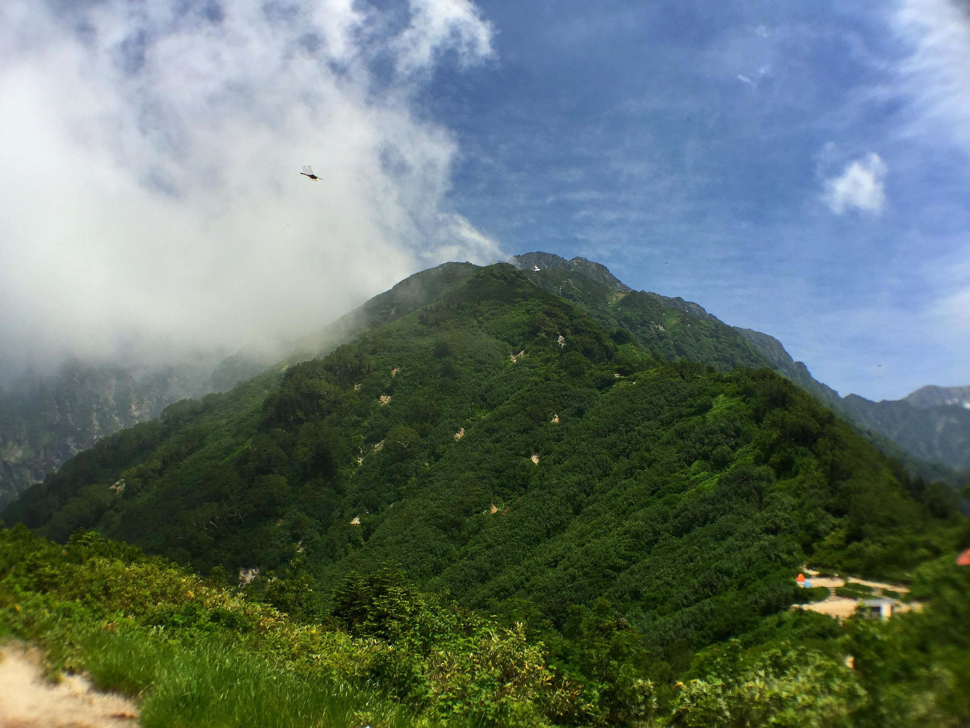 早月尾根と剱岳