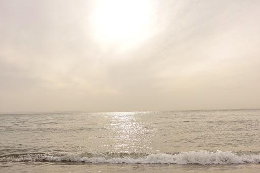 5-12曇りの海