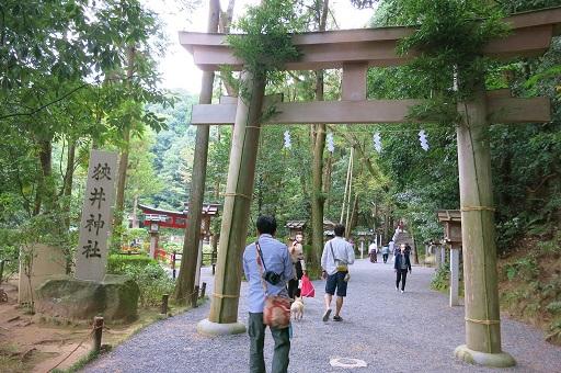 10-22狭井神社鳥居