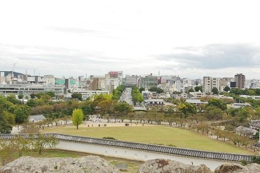 11-9天守からの眺め①