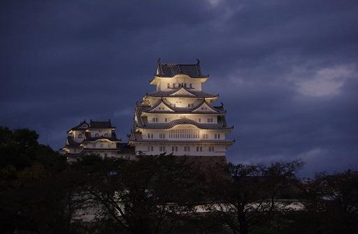 11-9夜景姫路城