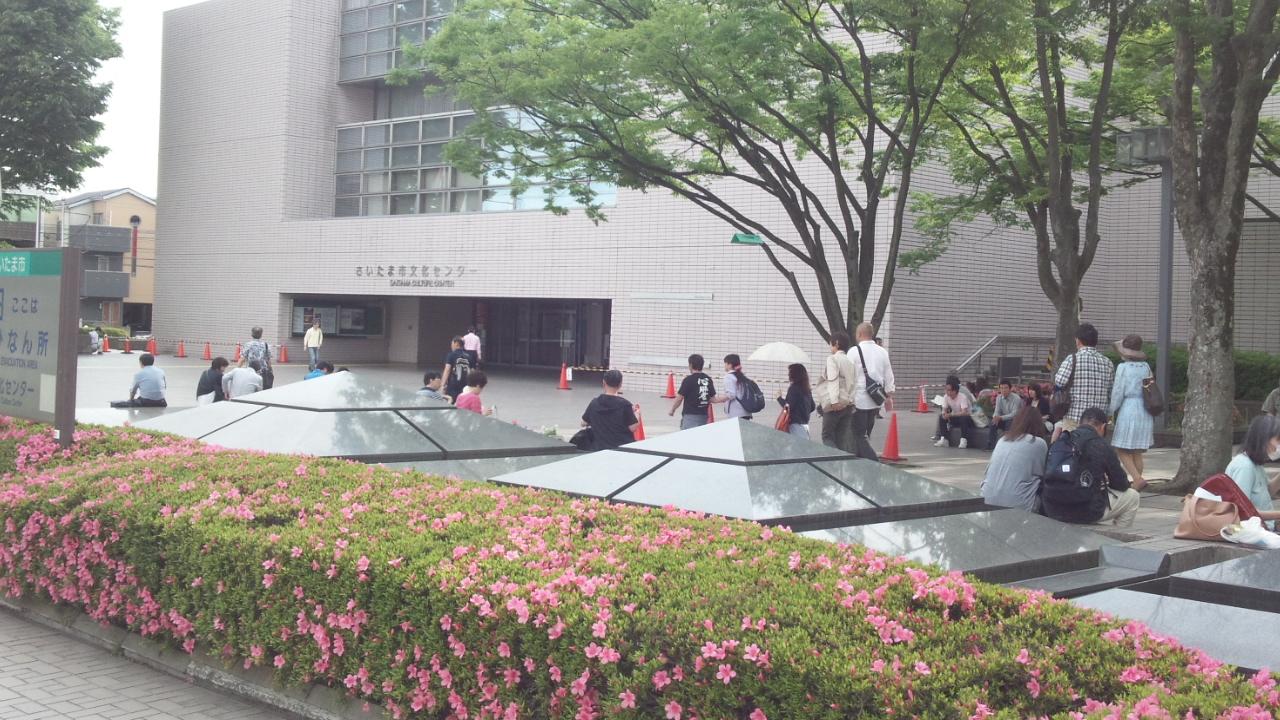 さいたま市文化センター外観2