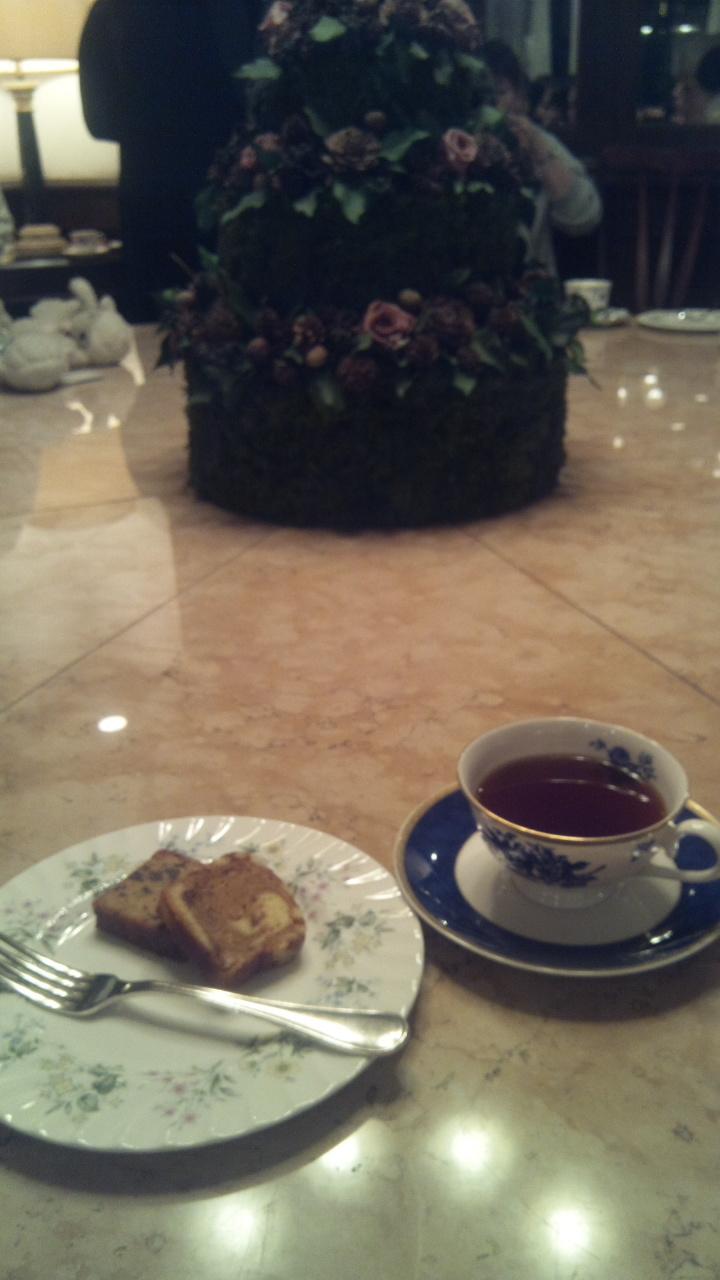2016年のケーキ&紅茶
