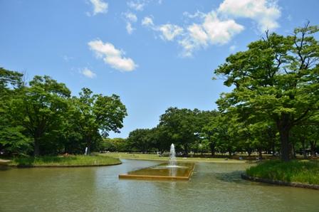 噴水代々木公園
