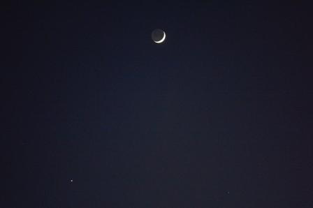 三角月と星