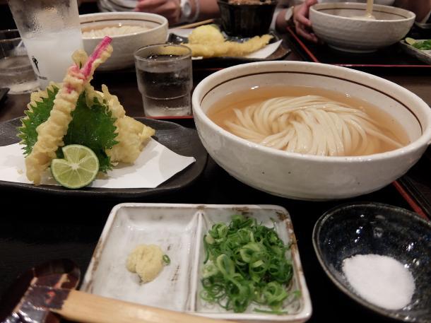 鱧と大葉の天ぷら