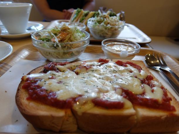 マルゲリータチーズトースト