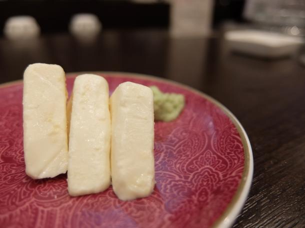 チーズのみそ漬け
