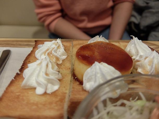 プリンアラモード・トースト
