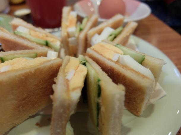 焼きサンド(玉子)