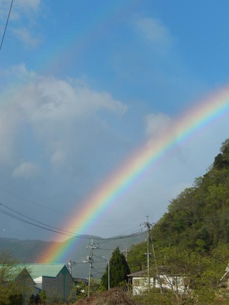 平成28年4月17日の虹#2