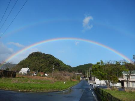 平成28年4月17日の虹