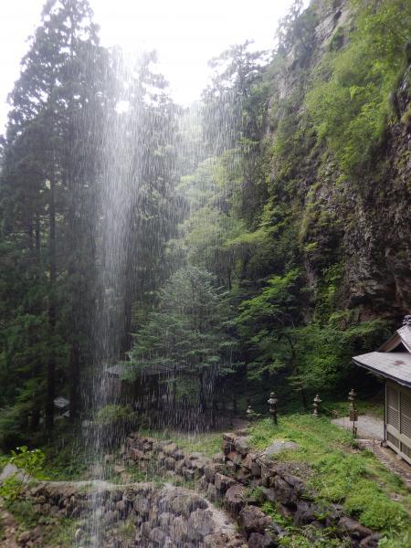 壇鏡の滝 滝裏