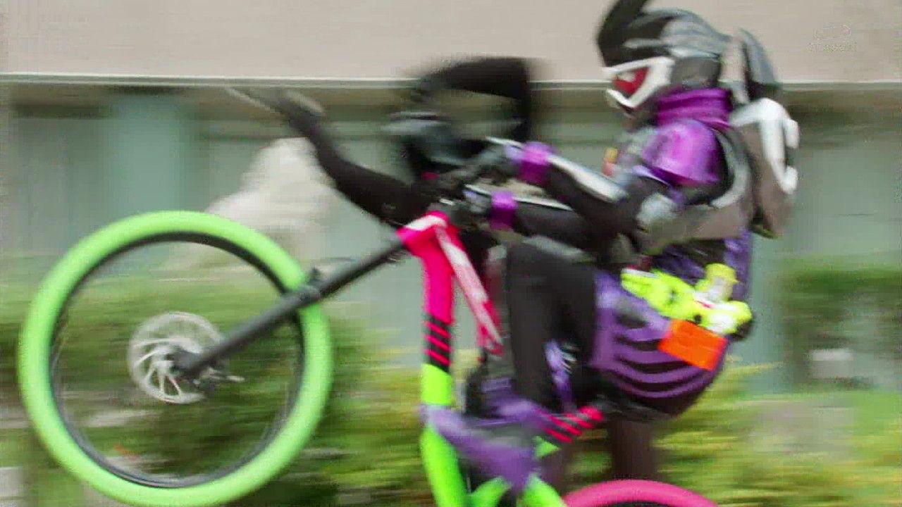 ゴースト#49自転車ライダー