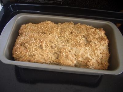 手作りパン(ライ麦パン)