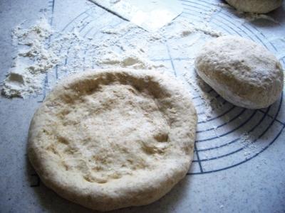 パン(モーニングピザ)