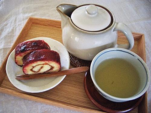 北海道フェアーとほうじ茶