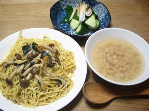 夕食(パスタ)