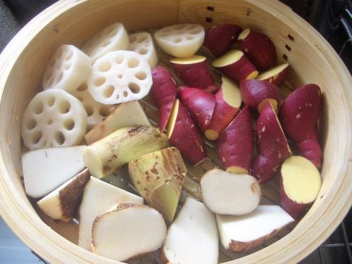 蒸篭(野菜)