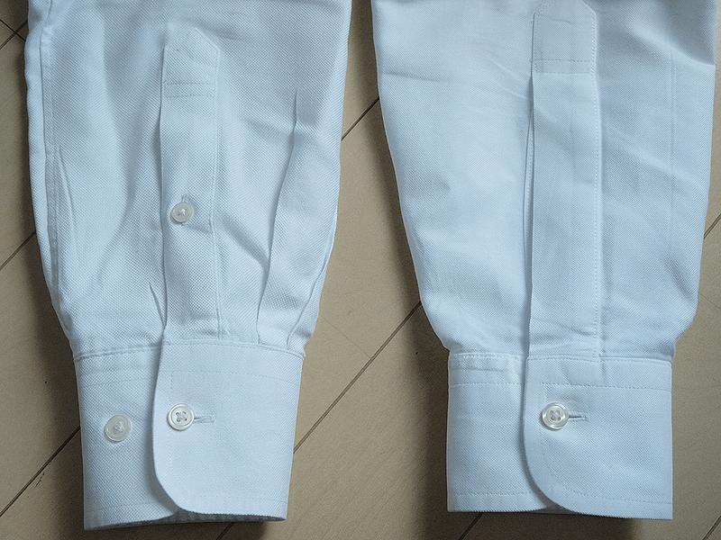 ユニクロブルックス袖