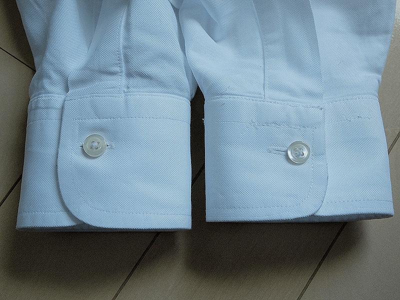 【修理後】ブルックスブラザーズ袖1