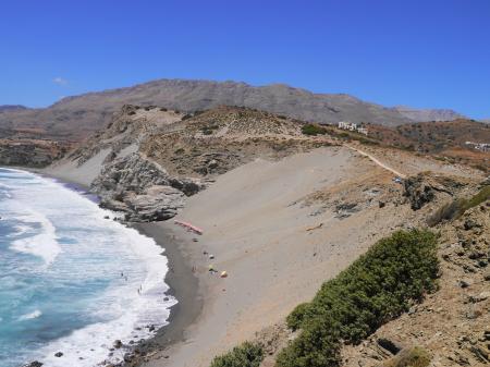 砂山からのアクセス