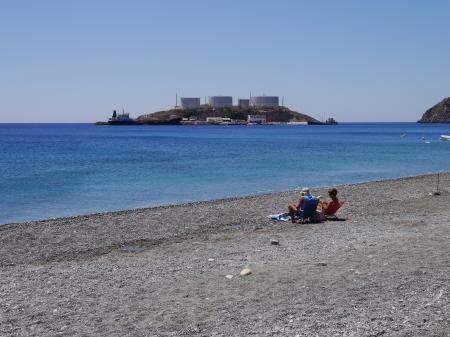 人の少ないビーチ