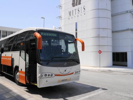 ラフィーナ行バス