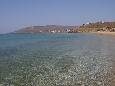 11時アギオス・ペトロスビーチ
