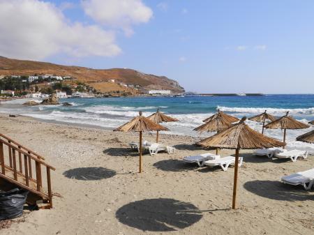 アンドロスのビーチ