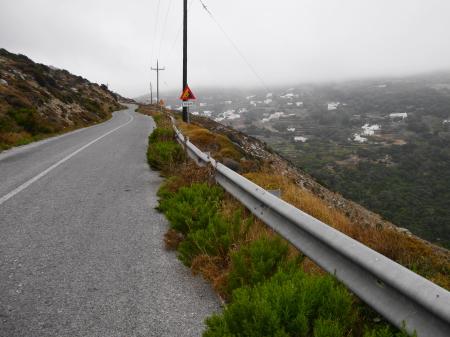 アンドロスの山の道