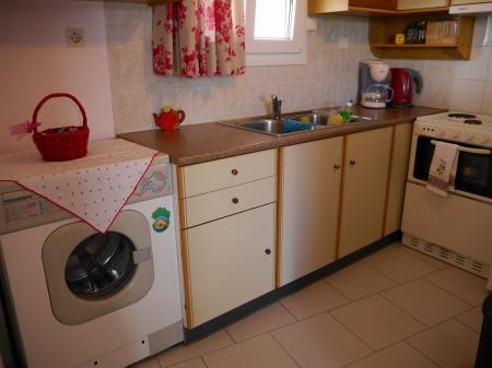 キッチン 洗濯機付き
