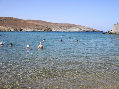 ギリシャ人は海の時間が長い