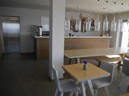 改装された食堂