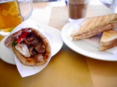 ギロとサンドイッチ