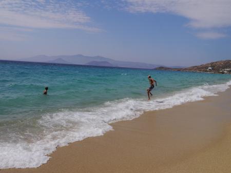 プロコピオスビーチの波