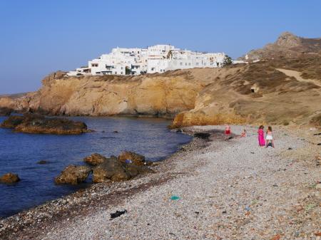 最終日のグロッタビーチ