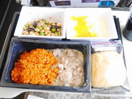 機内食ラム