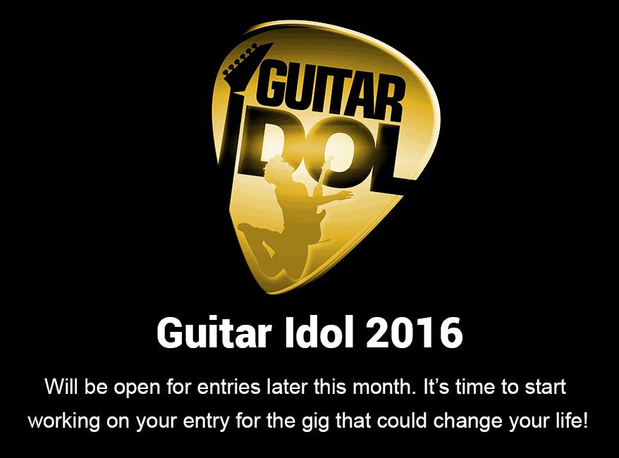 guitar idol 2016