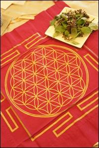 神聖幾何学とホーリーバジル