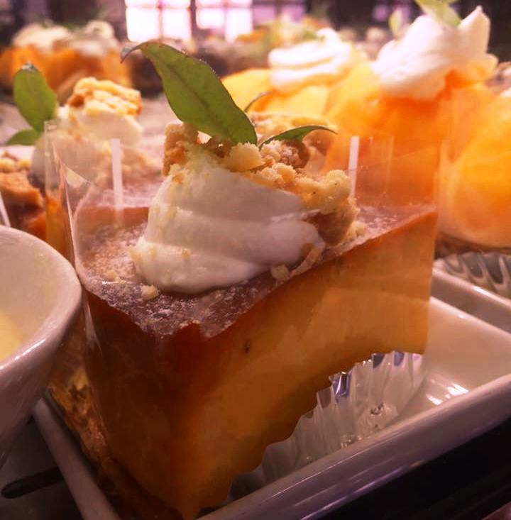 カボチャチーズケーキ
