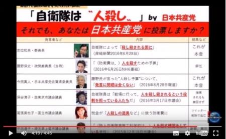 【動画】「人を殺すための予算」の背景!日本共産党 平田通子市議、陸自工科学校を「殺人練習する学校」と発言した過去 [嫌韓ちゃんねる ~日本の未来のために~ 記事No10477