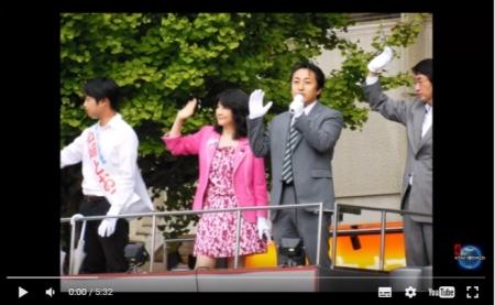 【動画】速報 片山さつき候補、立川駅で演説中に『アベ死ね』『戦争法反対』『脱原発』と叫ぶ左翼系団体に襲撃される [嫌韓ちゃんねる ~日本の未来のために~ 記事No10552