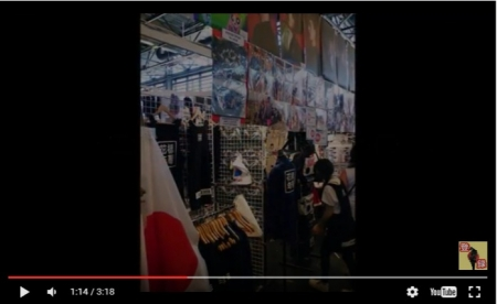 「ブチ切れフランス人激怒!」まさかの異常事態が発生!韓国ショップが日本国旗を掲げパリでグッズ販売!? [嫌韓ちゃんねる ~日本の未来のために~ 記事No10655