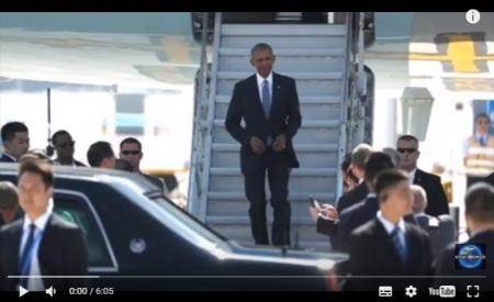 【動画】G20 中国が空港でオバマ大統領にタラップと赤絨毯を用意せず冷遇 外交問題に発展へ [嫌韓ちゃんねる ~日本の未来のために~ 記事No11725
