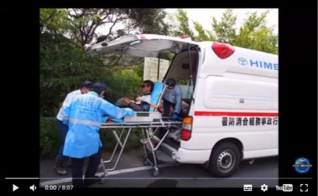 【動画】沖縄 高江サヨク活動家が緊急走行中の救急車を停めて勝手にドアを開け、「誰を乗せているか」と検問 [嫌韓ちゃんねる ~日本の未来のために~ 記事No12360